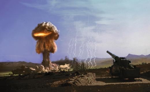 주한미군도 운용했던 M65 280㎜ 원자포. (사진=미육군 제공)