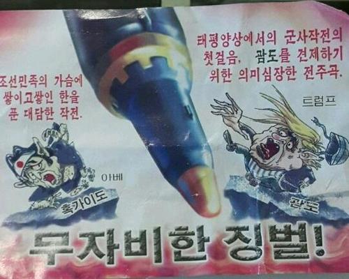 서울 영등포구 일대에 뿌려진 대남전단.  [인스타그램 캡처]