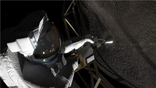 ▲조만간 우주비행사가 직접 소행성을 탐험하는 시대가 될 것으로 기대된다.[사진제공=NASA]