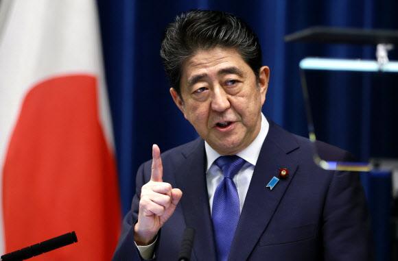 아베 신조 일본 총리AP 연합뉴스