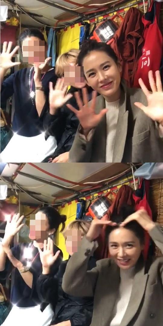 [★SNS]미모가 반짝반짝 손예진, 부산국제영화제 뒤풀이 현장 공개