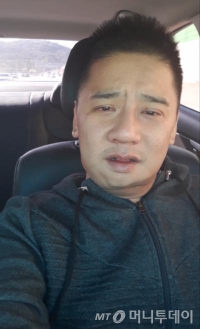 여중생 살인 피의자 이영학씨(35)가 직접 촬영한 '유서 동영상' 화면 캡처.
