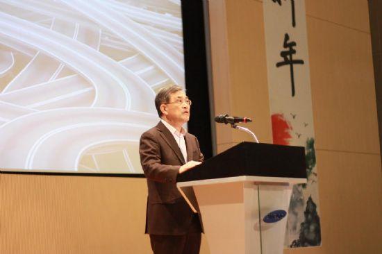 삼성전자 2017년 시무식에 참석한 권오현 삼성전자 부회장 (사진=삼성전자)