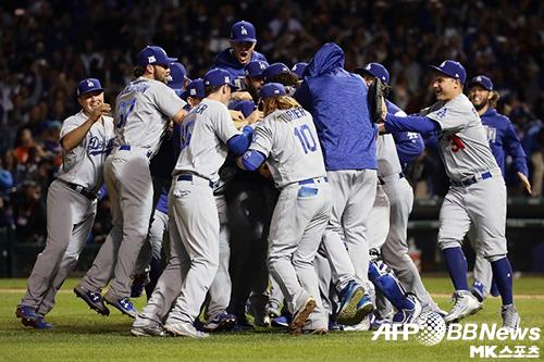 다저스는 월드시리즈도 유리한 위치에서 시작한다. 사진(美 시카고)=ⓒAFPBBNews = News1