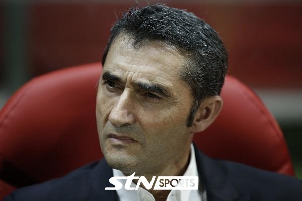 FC 바르셀로나의 에르네스토 발베르데 감독