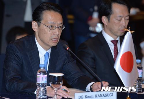 가나스기 겐지 일본 외무성 아시아대양주 국장