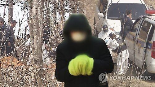 시신유기. [연합뉴스 자료사진]