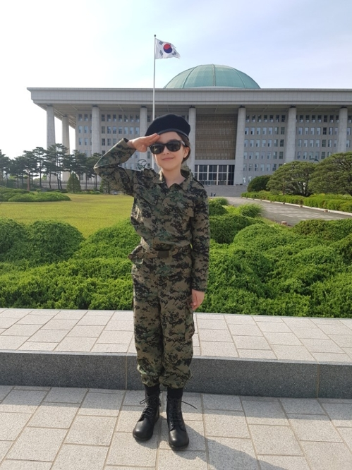[캠벨 에이시아 가족 제공=연합뉴스]