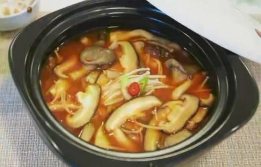 버섯 요리_버섯 찌개