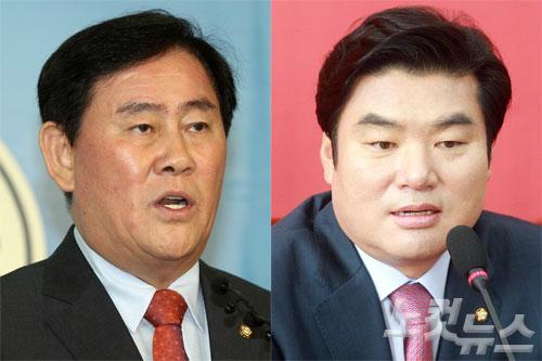 (왼쪽부터) 자유한국당 최경환 의원, 원유철 의원 (사진=자료사진)