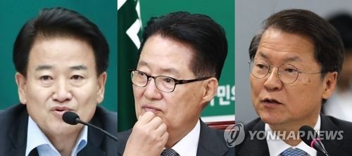 정동영 박지원 천정배 국민의당 정동영(왼쪽), 박지원(가운데), 천정배 의원 [연합뉴스 자료사진]