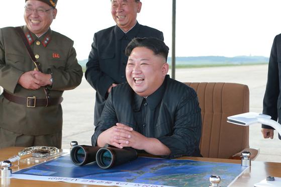 북한 김정은 자료사진. [AP=연합뉴스]