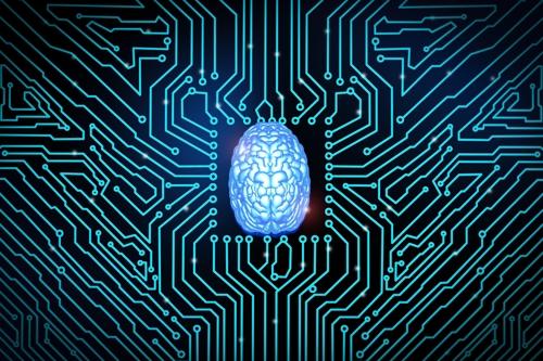 뇌 신경세포망과 전자기 회로를 상징하는 그림 [게티이미지뱅크 제공]