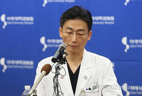 이국종 아주대병원 중증외상센터장 [연합뉴스 자료사진]