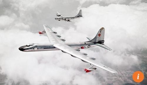 1950년대 미국 공군이 개발을 추진했던 핵 추진 항공기[SCMP 캡처]