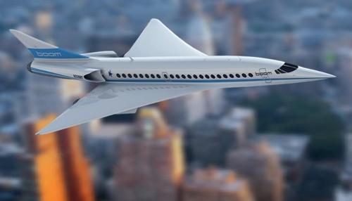 초음속기 [boom technology 홈페이지 캡처] 미국 벤처기업 boom technology사가 개발중인 초음속기의 모습.