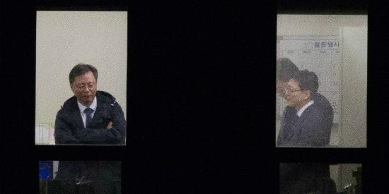 우병우(49) 전 청와대 민정수석이 6일 피고발인 신분으로 검찰에 소환돼 조사를 받았다. (사진=조선일보 제공)