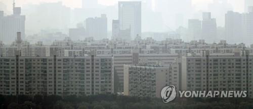 서울 강남의 아파트 단지 모습 [연합뉴스 자료사진]