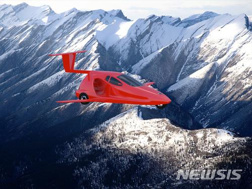 【서울=뉴시스】 미국 오레곤주의 자동차 업체 '샘슨 모터스(Samson Motors)'는 플라잉 스포츠카 '스위치블레이드'를 내년 봄 출시한다고 15일(현지시간) 밝혔다.스위치블레이드는 항공기와 스포츠카로 모두 사용할 수 있는 2인승 3륜차다. 최대 1만3000피트(약 4㎞) 높이로 비행할 수 있다. 최대 속도는 지상에서 시속 160㎞, 하늘에서 시속 320㎞다. 가격은 12만 달러로 책정됐다.(사진 출처 : Samson Motors)