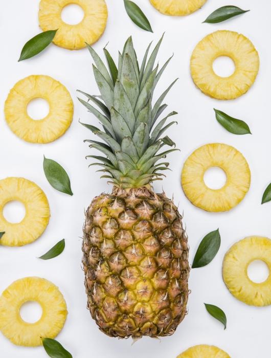 뱃살 빼는 과일 파인애플, 브로멜라인 효소의 효능은?