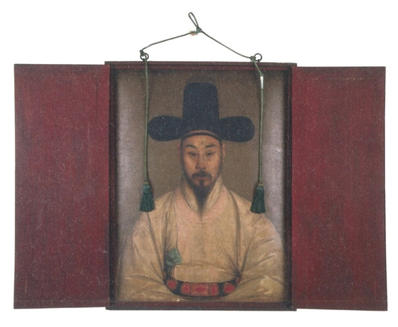 박회수 유화 초상. 작자 미상. 1833년. 52.8×70.4㎝. [사진 국립중앙박물관]