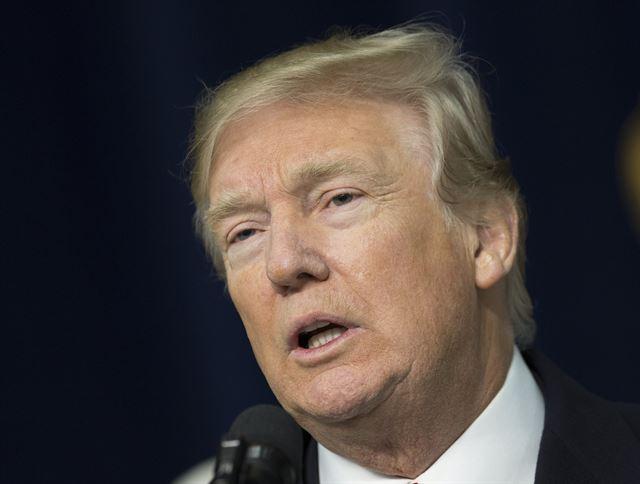 도널드 트럼프 미국 대통령. EPA 연합뉴스