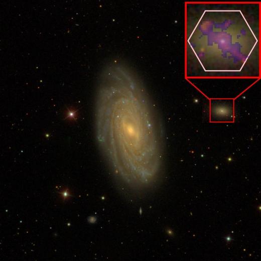 대형 은하와 그 주변의 왜소은하