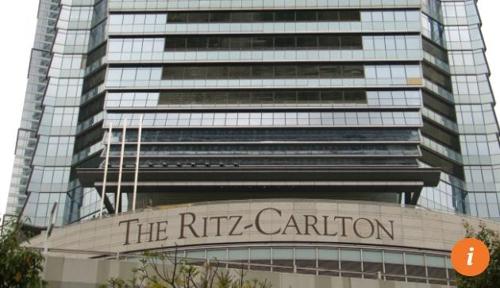 한국인 여행객이 아내와 아들을 살해한 혐의로 체포된 홍콩 리츠칼튼 호텔 홍콩 사우스차이나모닝포스트(SCMP) 캡처