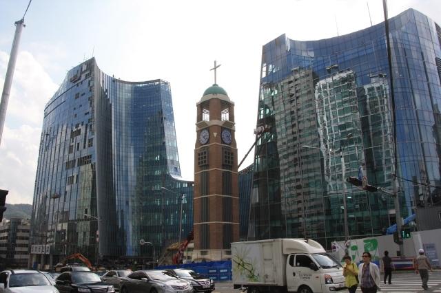 서울 서초구 사랑의교회 전경. 사진 이정아 기자 leej@hani.co.kr