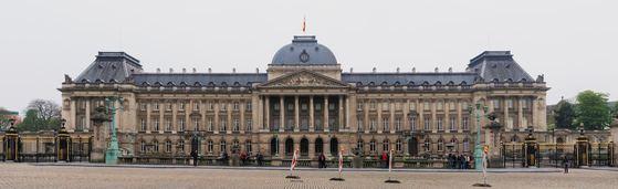 벨기에 브뤼셀에 엤는 왕궁. [위키피디아]