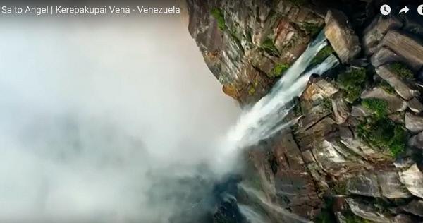 베네수엘라 앙헬 폭포/ 유튜브 캡처