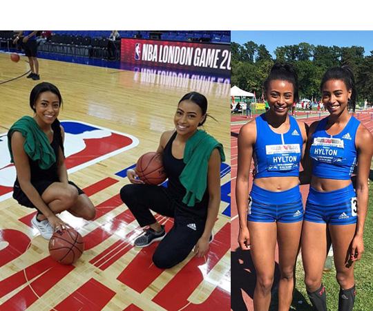 영국의 쌍둥이 육상 선수 (사진 = 인스타그램)