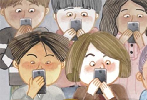 청소년이 스마트폰을 과도하게 사용하면, 행복감이 낮은 것으로 나타났다. 사진-조선일보DB
