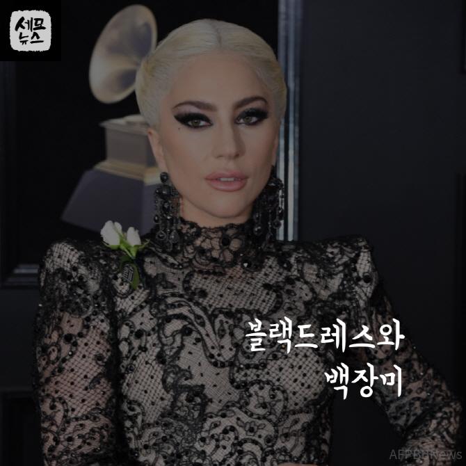 #해외 ♥ [세모뉴스]블랙드레스와 백장미