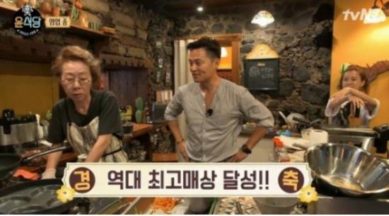 '윤식당2' 윤여정, 이서진, 정유미/사진=tvN 예능프로그램 '윤식당2' 방송 화면 캡처