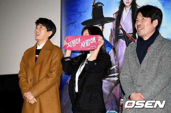 [사진]김명민-김지원-오달수, '조선명탐정' 웃음 수혈 시사회