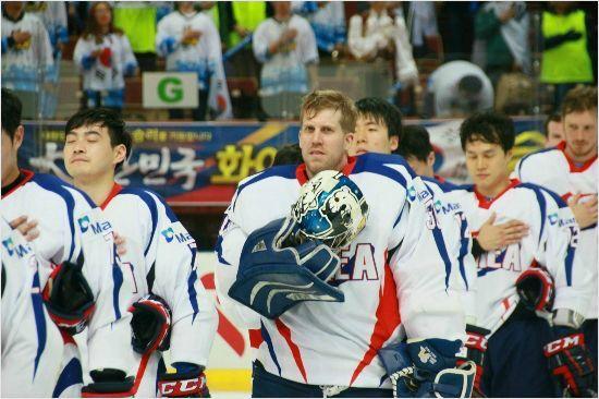 한국 국적으로 평창 동계올림픽에 출전하는 맷 달튼. (사진=대한아이스하키협회 제공)
