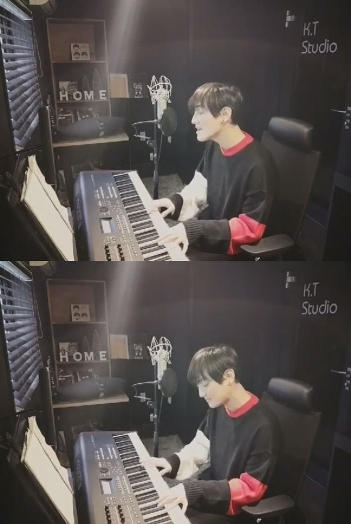 H.O.T. 강타, '빛' 연습 영상 공개..여전한 가창력