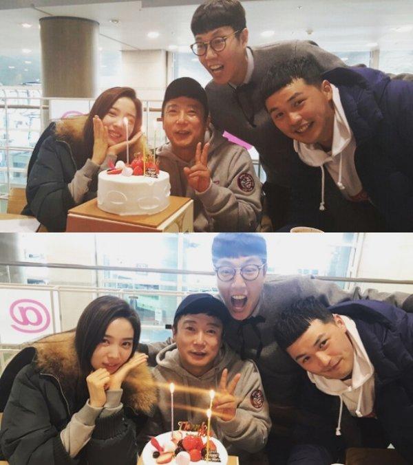 """김영철, 이수근에 """"미리 생일 축하해""""..훈훈한 동료애"""