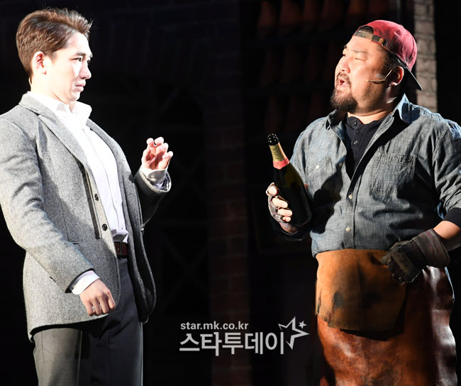 [포토]김호영-고창석, 뮤지컬로 만나다