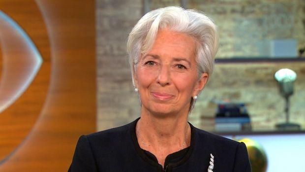 크리스틴 라가르드 IMF 총재(사진=미국 CBS)