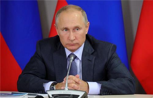 블라디미르 푸틴 러시아 대통령 [타스=연합뉴스]