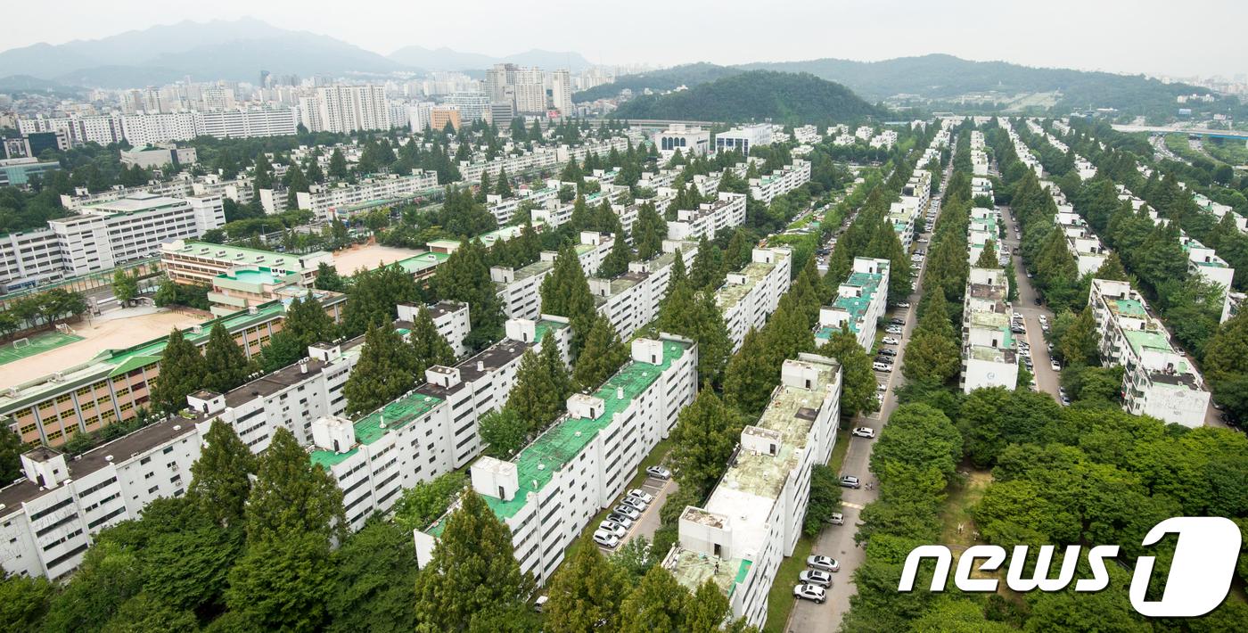서울 서초구 반포동 반포주공1단지 전경.(뉴스1 자료사진)© News1 허경 기자