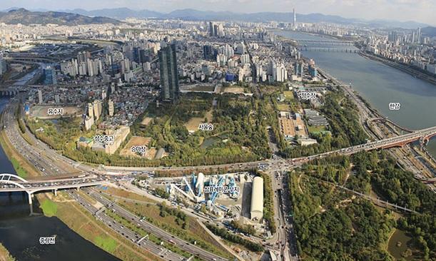 서울숲 일대 전경. /사진제공=서울시