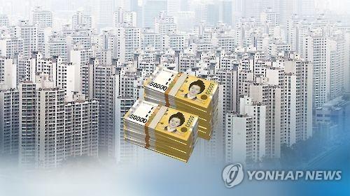 아파트값 (CG) [연합뉴스TV 제공]