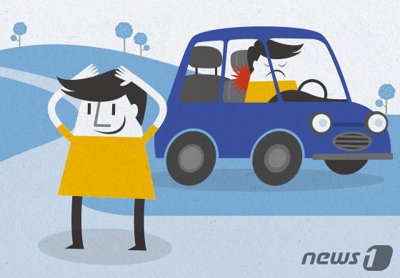 장시간 운전에는 '스트레칭'이 필요하다. © News1 방은영 디자이너