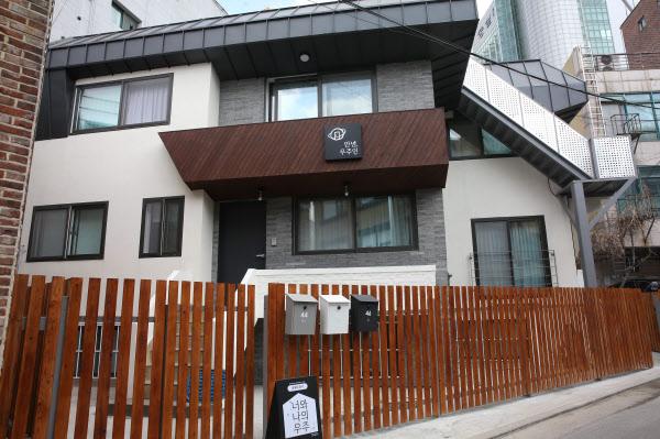 단독주택을 개조해 만든 쉐어하우스. /김연정 객원기자