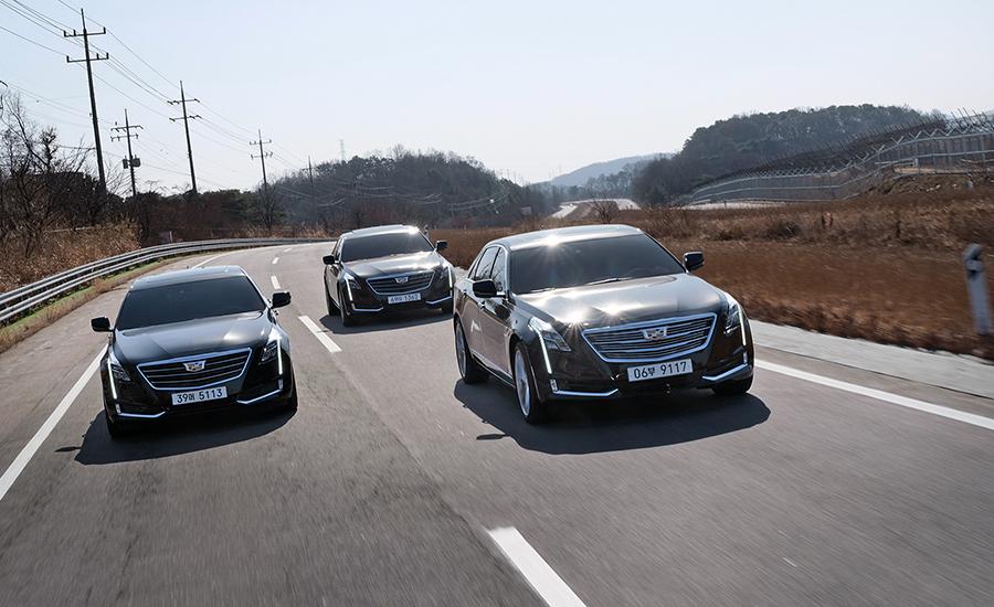 캐딜락 CT6 터보, 프리미엄 그리고 CT6 플래티넘은 그 자체로 '가성비'가 뛰어난 차량들이다.