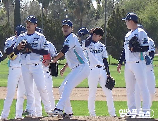 김진성은 최근 4년간 리그에서 가장 많은 이닝을 투구한 선수다(사진=엠스플뉴스 배지헌 기자)