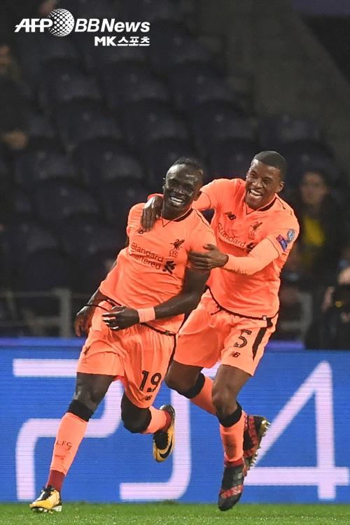 리버풀(사진)과 레알마드리드가 챔피언스리그 16강 1차전서 승리했다. 사진=AFPBBNews=News1